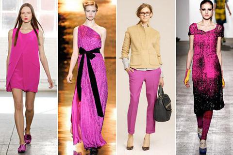 Модные цвета сезона весна-лето 2012