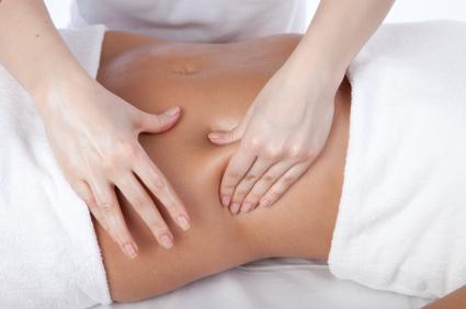 Виды массажа живота для похудения