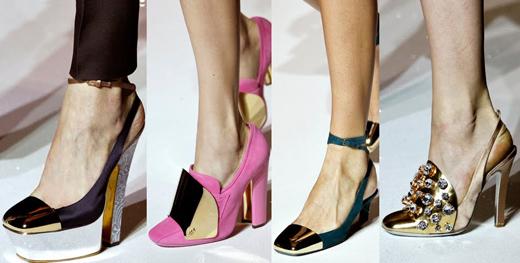 Самые модные туфли весна 2012