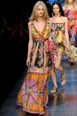 Модные сарафаны весна-лето 2012