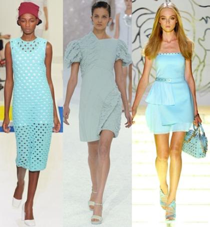 Модный тренд 2012 года – мятный цвет