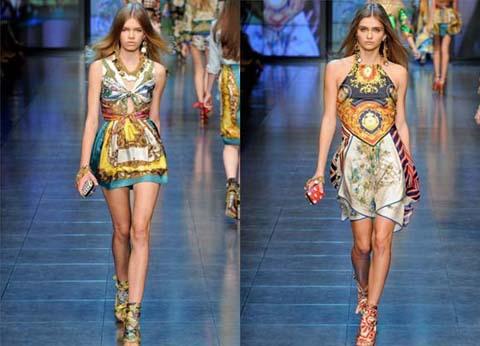 Модные юбки сезона  весна-лето 2012