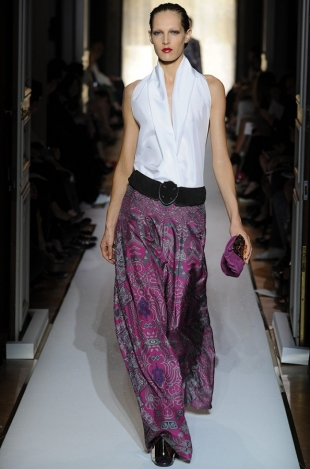 Модные  длинные юбки 2012