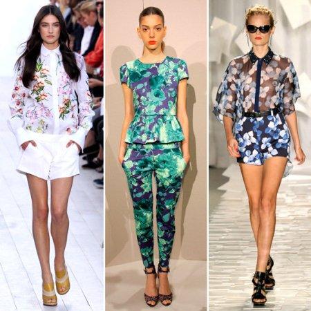 Самые модные вещи лета 2012