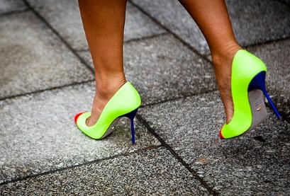 Тренд лета 2012 – неоновые цвета