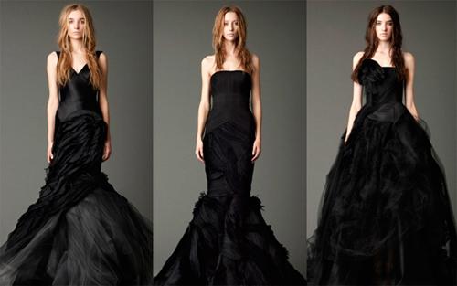 Актуальные свадебные платья осень 2012