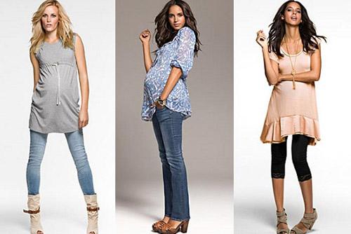 Стильный гардероб для беременных