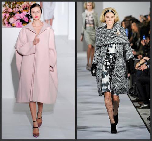 Модные пальто осень 2012
