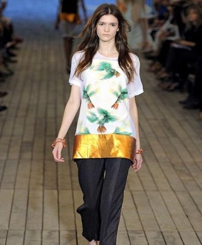 Модные оригинальные футболки осень/зима 2012/2013