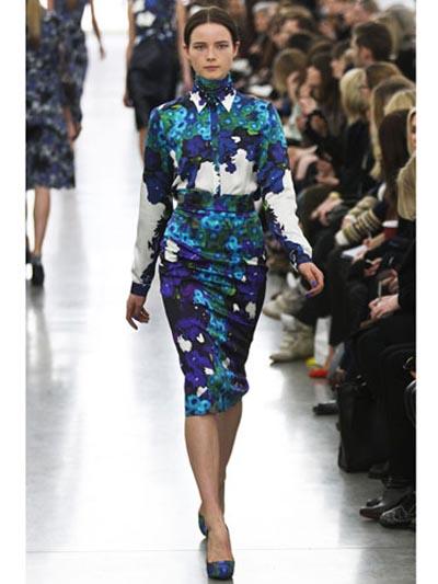 Цветочные принты – модный тренд осени