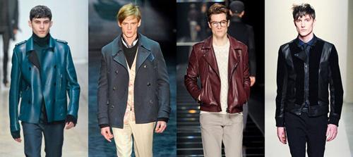 Актуальные мужские куртки осень 2012