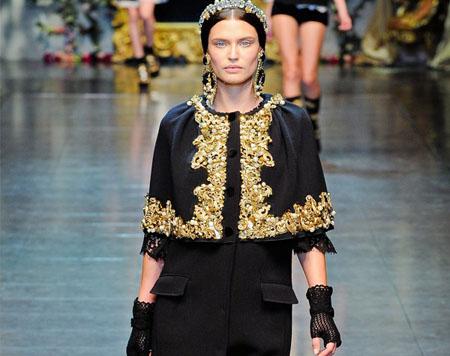 Модный тренд осени 2012 – современное барокко