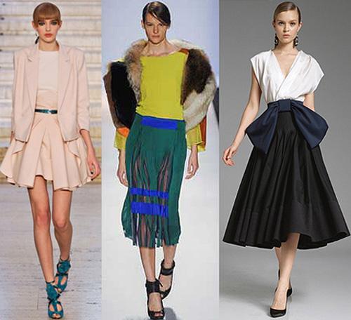 Самые модные юбки осень зима 2012 2013