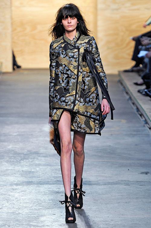 Модные материалы осень-зима 2012/2013