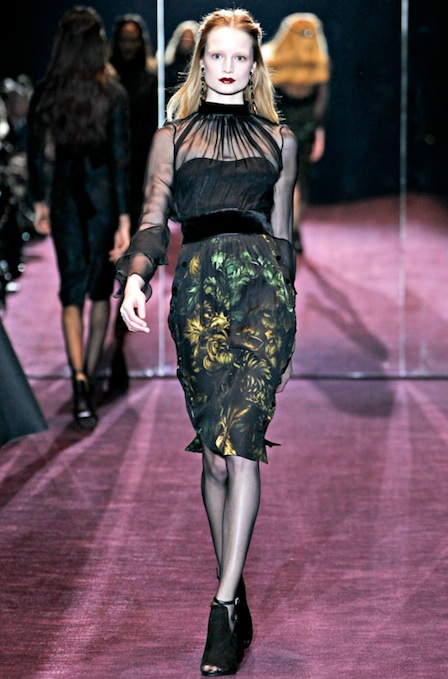 Самые модные блузки осень-зима 2012/2013