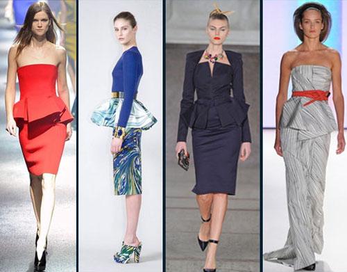 Модный тренд осенне-зимнего сезона 2012/2013 – баска