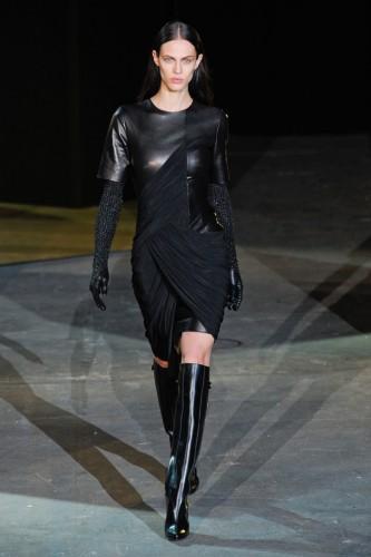 Модная кожаная одежда осень-зима 2012/2013