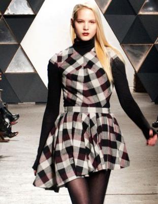 Модный тренд осенне-зимнего сезона 2012/2013 – клетка