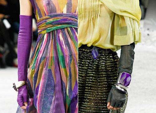 Модные перчатки осень-зима 2012/2013