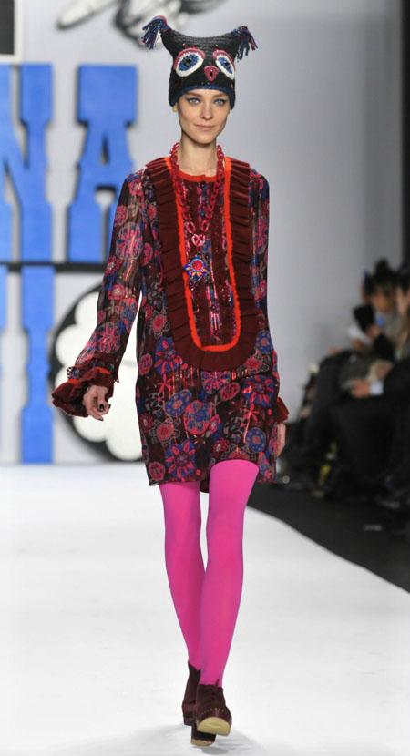 Модные колготки осень-зима 2012/2013