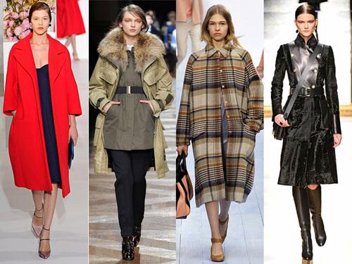 Актуальные пальто сезона зима 2012-2013
