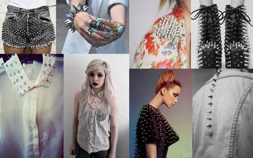 Модный тренд 2012/2013 – шипы