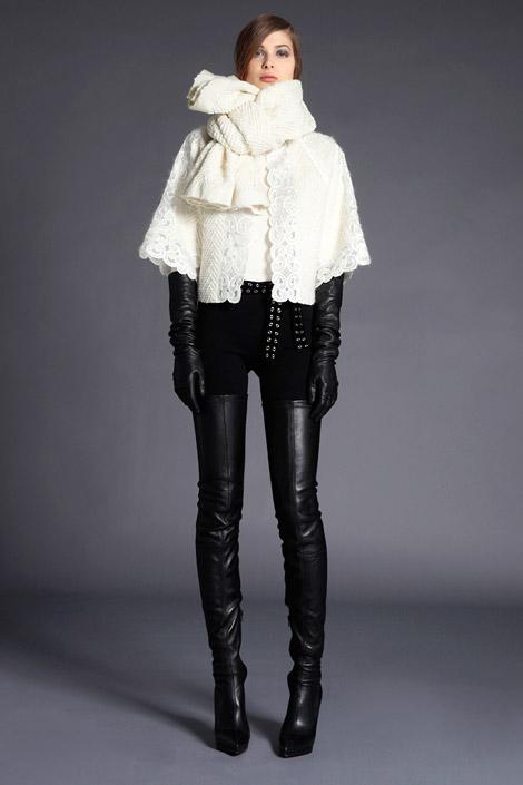 С чем носить ботфорты зимой 2012/2013