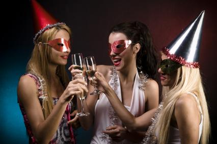 Варианты самых необычных новогодних вечеринок