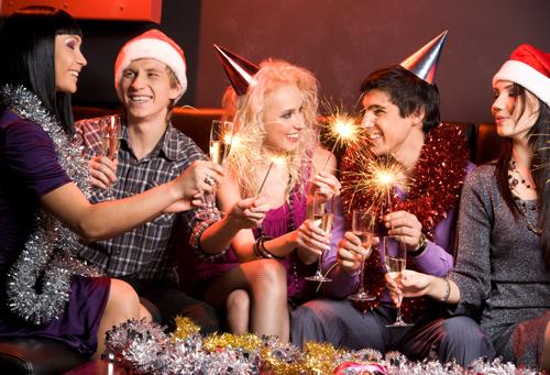Молодежные новогодние конкурсы для активной кампании