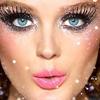 Необычный макияж на Новый год