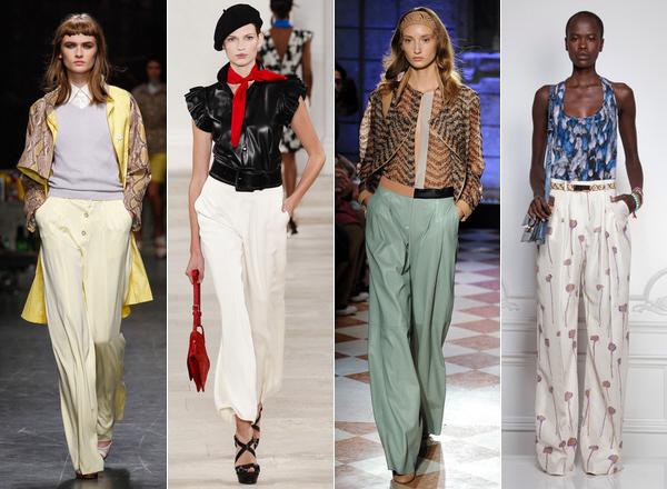 шелковые брюки женские фото