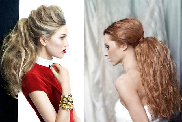 Как сделать новогоднюю прическу на средние волосы