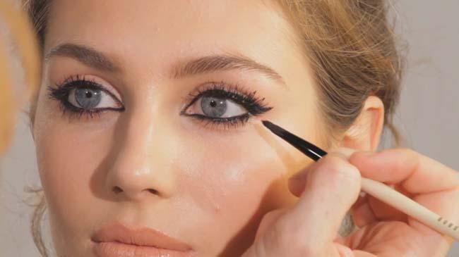 Как сделать брови для маленьких глаз