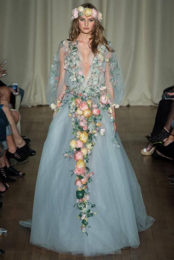 Wedding Flowers Dress