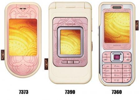 """""""Любовная коллекция"""" от Nokia"""