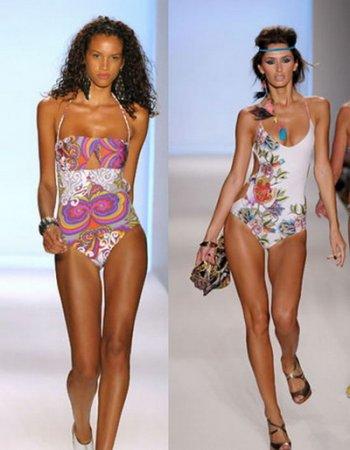 Горячая пляжная мода 2010 от Mercedes Benz Fashion Week.