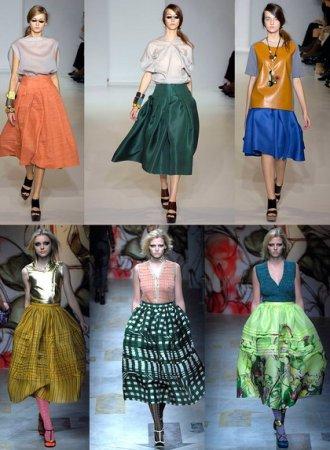 Описание: для печати Самые модные юбки 2009 года.